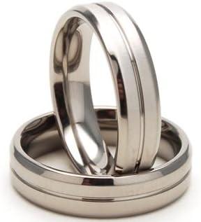 5mm Titanium Rings, Titanium Wedding Bands, Titanium Wedding Rings