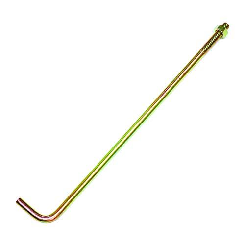 ダイドーハント (DAIDOHANT) (Z金物) Zマーク アンカーボルト (呼び径)M12x(長さL)450mm (5本) [ナット付] 10103111