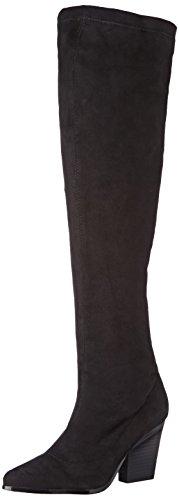 Buffalo, Damen B274a-192 S0002a Imi Suede Langschaft Stiefel, Schwarz (Black 01), 38 EU