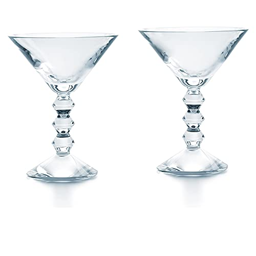 Baccarat Vega Stemware Martini Glass Set of 2 2810901