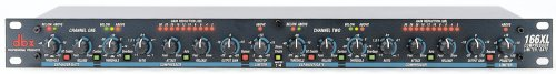 dbx 166XL Dual Compressor Limiter Gate. Buy it now for 199.99