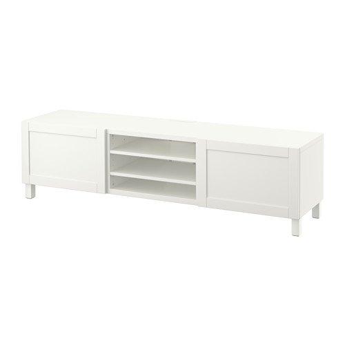 IKEA TV-Bank mit Schubladen, Hanviken weiß 12202.20520.1034