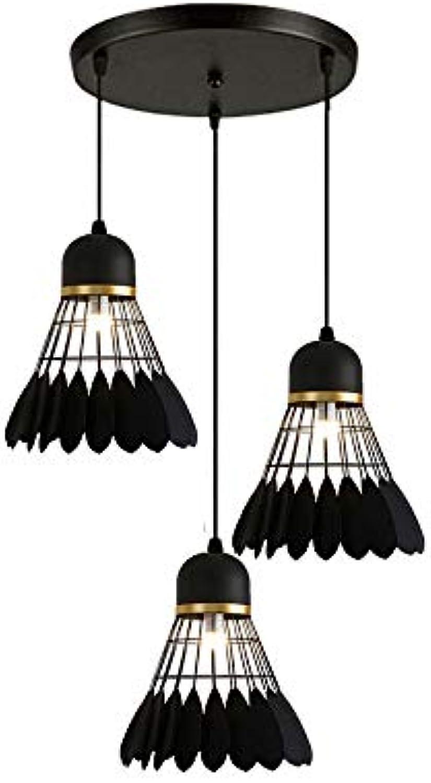 CHENSQ Deckenleuchte Badminton Kronleuchter Bar Restaurant Wohnzimmer Beleuchtung