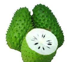 zumari 3 Semillas de Fruta de Guanabana Annona Verde.