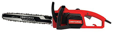 CRAFTSMAN Electric Chainsaw, 16-Inch, 12-Amp (CMECS600),REd