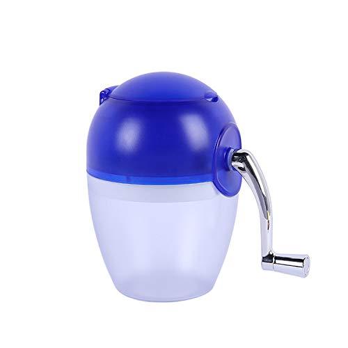 SHUNHUI Hand-Crushed-Eismaschine Kleine Haushalts-Handschleifmaschine Smoothie-Eismaschine Mini-Eismaschine Entsafter Saftmaschine Küchenwerkzeug