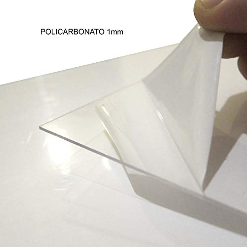PC incolore large s/élection alt-intech/® /épaisseurs Plaque Polycarbonate UV diff/érentes Tailles 900 x 400 mm , 2 mm transparente 2-20 mm