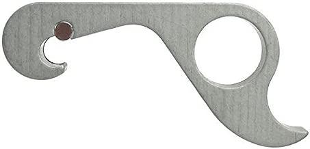GrabOpener: One-Handed Grab Opener for Bottles (Hard-Anodized Aluminum, Gun Metal)