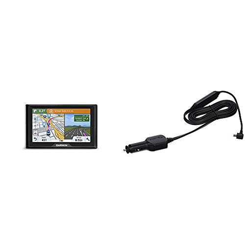 Garmin Drive 51 USA+CAN LMT-S GPS Navigator System with Lifetime Maps, Live Traffic and Live Parking & GTM 36 Traffic Receiver (North America)