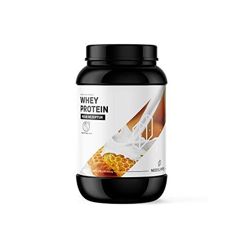 Whey Protein Milch & Honig 1kg | Gesunder Eiweißshake zum Trinken | Wertvolle Proteine für Erhalt und Aufbau von Muskelmasse, Geschmack:Milk & Honey