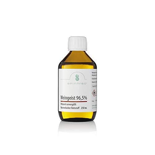 Weingeist 96,5% - Ethanol - unvergällt 250ml