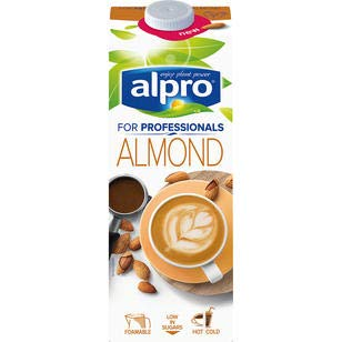 Alpro Mandeldrink for Professionals, 8er Pack, 8 x 1 L