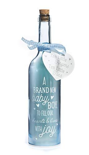 Boxer Gifts Starlight-Flasche für Neugeborene und Jungen, wunderschönes, dekoratives Haushaltsgeschirrgeschenk, Dekoration für Babyzimmer