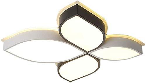 Led plafond licht laat Flush Mount, Dimbaar plafond Lamp Ultra-dunne plafond lamp armatuur voor woonkamer slaapkamer keuken hal dimbaar 60x60x9cm