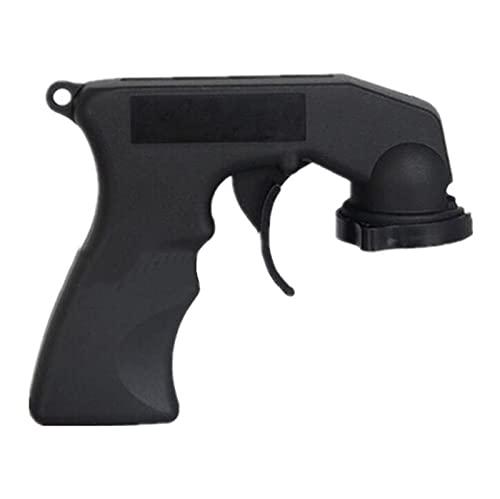 1 ORDENADOR PERSONAL Adaptador de pistola de pulverización Accesorios de cuidado de automóviles Cuidado de pintura Mango de aerosol con agarre completo Cuello de bloqueo de cuello de cierre durable