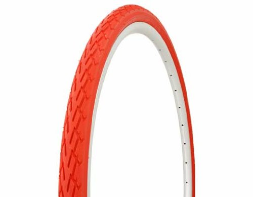 Lowrider Tire Duro 700 x 38c Red/Red Side Wall DB-7044. Bicycle tire, Bike tire, Track Bike tire, Fixie Bike tire, Fixed Gear tire