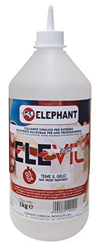 1 KG   Colla vinilica per Legno D3 D4 ELEVIL2252 - Super Collante professionale