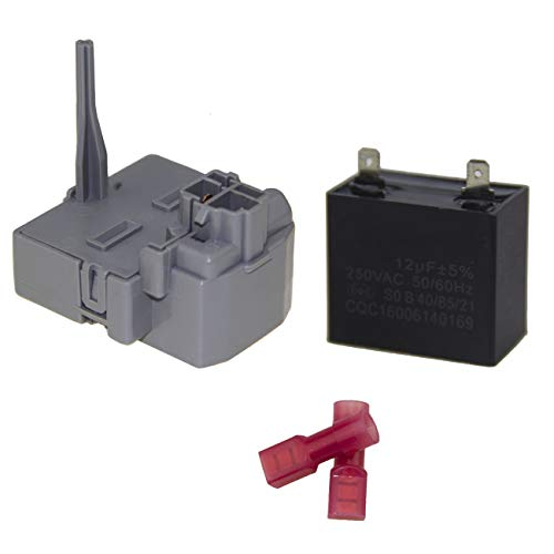 W10197428 TSD2 Relay and 2264017 Overload Assembly Replacement Part For Whirlpool Refrigerators & Freezer W10189190 W10662129 241941003 W2319792