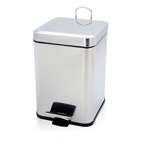 Auto Automatic Sensor Kitchen Waste Dust Bin 3L RVS pedaal prullenbak, Household Deodorant Storage Bucket (Color…