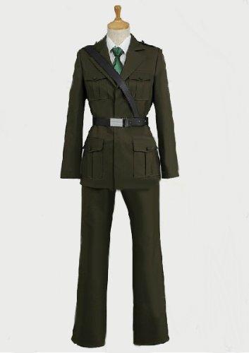 Axis powers ヘタリア イギリス 軍服 コスプレ衣装 完全オーダメイド対応可能 アニメ専線
