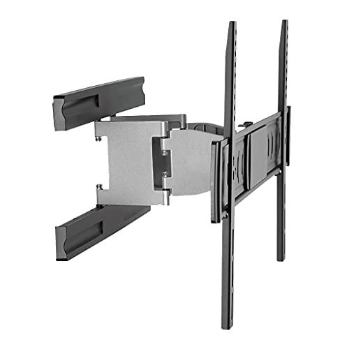 Soporte de TV de aleación de Aluminio Ultrafino Estante Giratorio telescópico Soporte Integrado Plegable Soporte de TV Universal