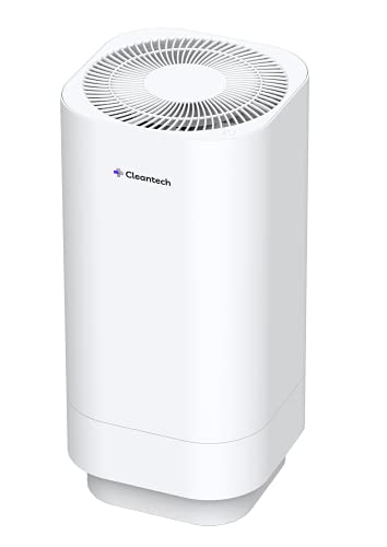 air purifier with new whispers Clean-tech Medical Grade Air Purifier, H11 True HEPA Filter, 2 Stage Air Purification, Remove 99.98% Dust, Smoke, Pollen, Filters Allergies, Odor Eliminator, 45db Whisper Quiet Technology