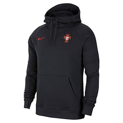 Nike Portugal 2020-2021 - Sudadera con capucha, color negro Negro  XXL