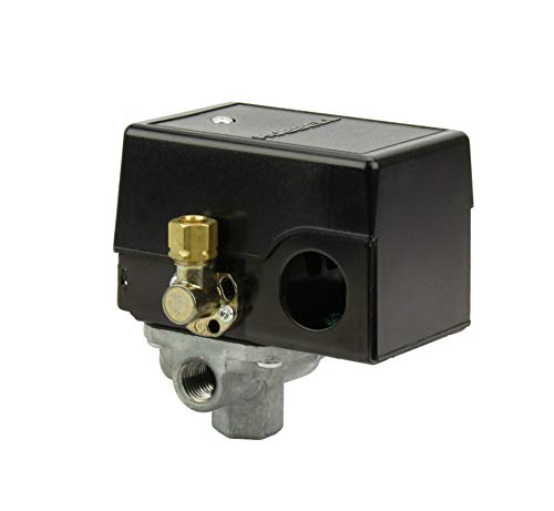 Pressure switch for air compressor made by Furnas / Hubbell 69JF7LY2C 95-125 Four port w/ unloader & on/off lever