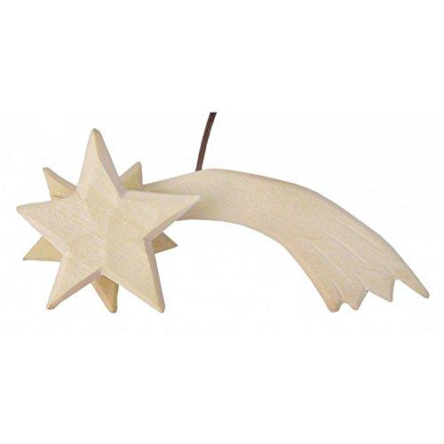 MaMeMi Leuchtstern für Weihnachtskrippe/Krippen * aus Holz, handgefertigt, elektrifiziert * Grösse:12 cm