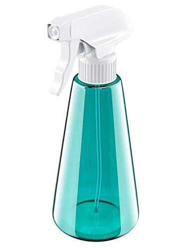 Babacom Sprühflasche, 500ml PET Plastik Zerstäuber, 2 Modi (Feinen Nebel & Ausmachen) Nachfüllbare Leere Sprühflasche für Reinigungsmittel, Flüssigkeit