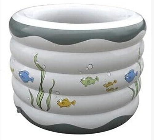 FACAI888 Baril de baignoire gonflable ronde pour enfants