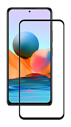 Doubledicestore Tempered Glass Screen Protector Compatible for Mi Redmi Note 10 / Note 10S with Edge to Edge Coverage and Easy Installation kit