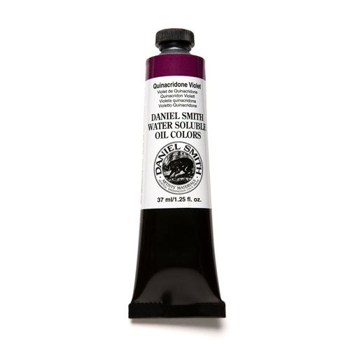 DANIEL SMITH Water Soluble Oil Color Paint, 37ml Tube, Quinacridone Violet, 284390027