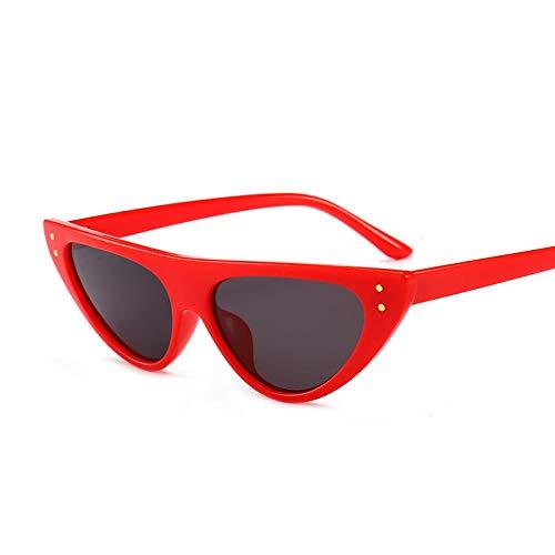 Único Gafas de Sol Sunglasses Gafas De Sol De Montura Pequeña Diseñador De Mujer Nuevas Gafas De Sol De Ojo De Gato De U