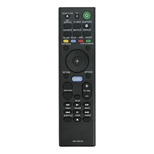 VINABTY RMT-VB310U Ersatz Fernbedienung für Sony UBP-X800 UBP-UX80 UBP-X800M2 Blu-ray-Player