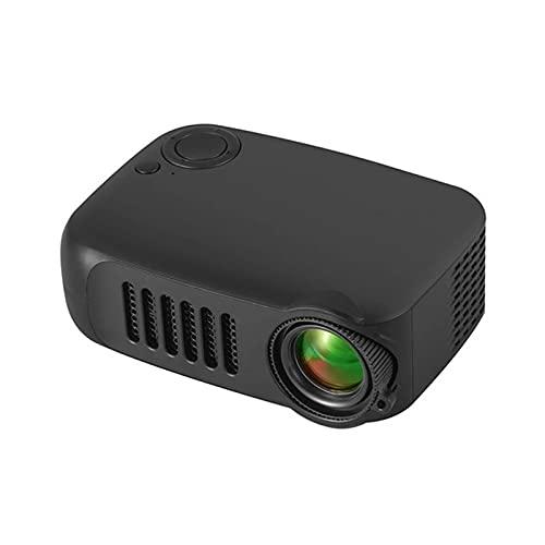 Staright Mini projetor USB Projetor de vídeo portátil com tela Lcd para filmes de desenho animado Projetor de telefone doméstico de bolso pequeno para home theater Projetor de filmes ao ar livre com