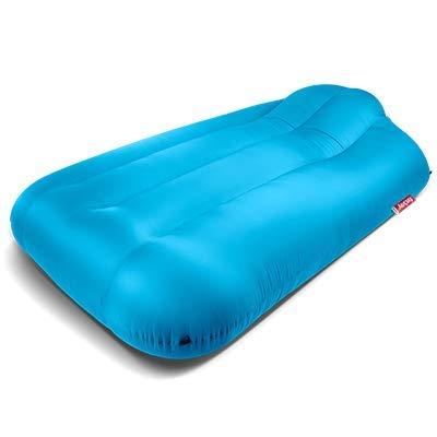 lamzac Luftgefülltes aufblasbares Sofa für den Garten XXX-groß wasserblau
