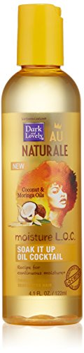 SoftSheen-Carson Dark and Lovely Au Naturale Moisture L.O.C. Soak It Up Oil Cocktail, 4.1 fl oz