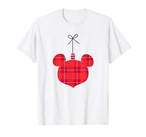 Disney Mickey Mouse Holiday Ornament Design T-Shirt