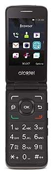 Tracfone Carrier-Locked Alcatel MyFlip 4G Prepaid Flip Phone- Black - 4GB - Sim Card Included – CDMA  Renewed