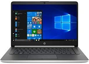 "HP 14-dk0045nr 14"" Notebook, A-Series A4-9125, 4GB RAM, 64GB Flash Memory, Ash Silver..."