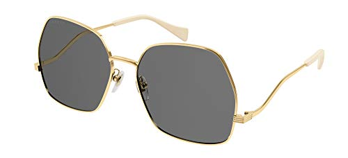 Gafas de Sol Gucci GG0972S Gold/Grey 60/17/145 mujer