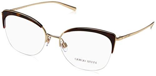 Armani Damen 0AR5077 Brillengestell, Havana/Pale Gold, 70