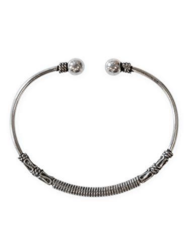 Fly Style Armreif Armspange aus 925 Sterling Silber für Damen und Herren