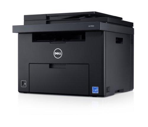 Dell C1765nfw LED-Farblaser-Multifunktionsdrucker (600x600dpi, USB, WLAN, LAN, Fax, Drucken, Scannen, Kopieren)