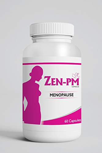 ZENPM Menopause Supplements Multivitamin Wellness Capsule for Menopause - 60 Capsule Cooling & Soothing - Hotflash Relief