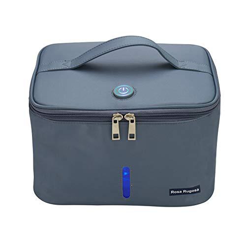 YUXINCAI Draagbare led-uv-desinfectiezak, uv-sterilisator voor mobiele telefoons, melkflessen, kleding en glazen, make-up-tools sterilisatiebox