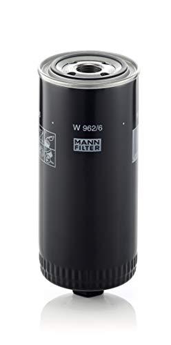 Original MANN-FILTER W 962/6 - Schmierölwechselfilter - für Industrie, Land- und Baumaschinen