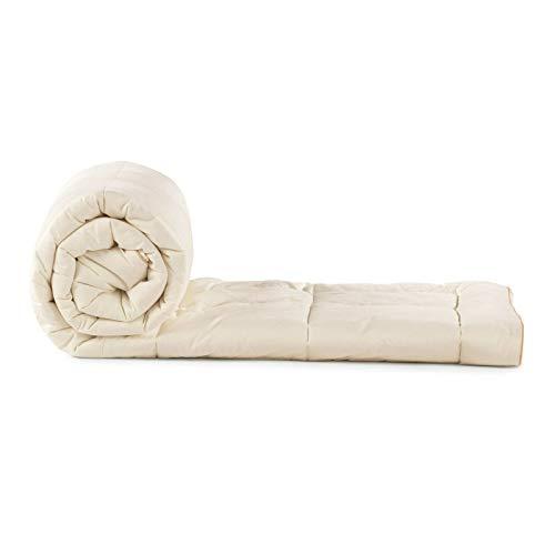 Vitapur 4-Jahreszeiten Bettdecke - Luxuriose, Voluminöse, Weiche Ganzjahresdecke mit natürlichen Bambusfasern - Allergiker geeignet, Oeko-Tex Zertifiziert (140 x 200 cm)