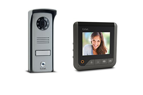 Extel 720296 Videoportero, 1W, Gris